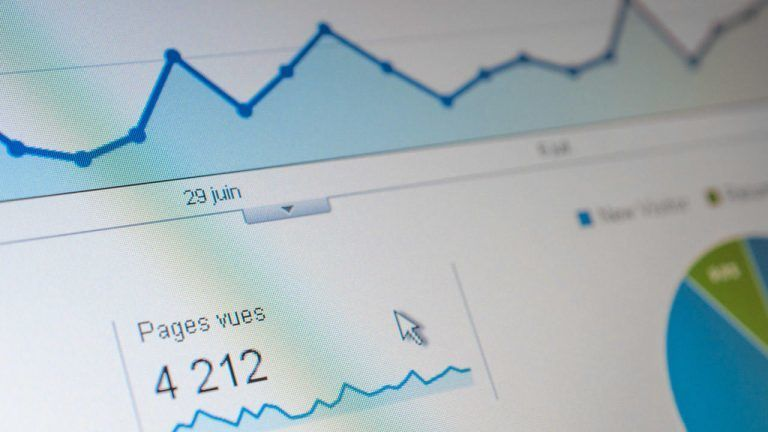 Website SEO gives visitors analyse Google Analytics