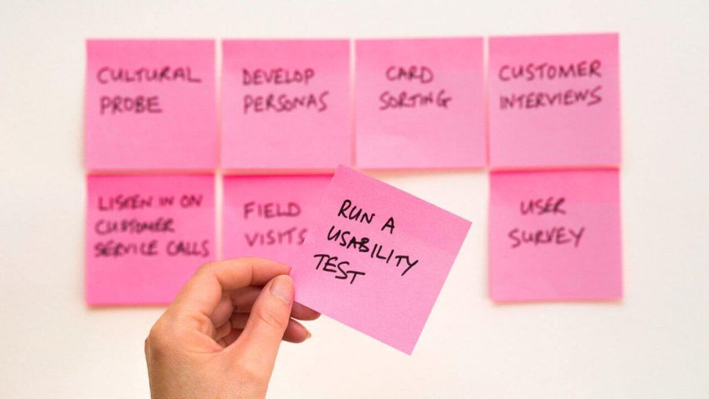 user research notes to give better user experience for customers