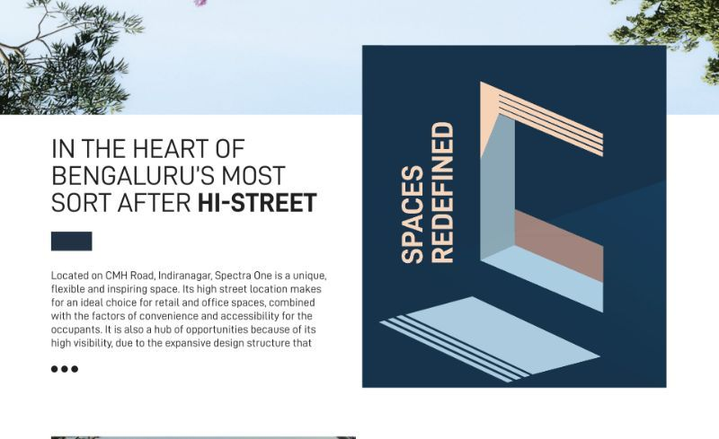 Spectra Website and Brochure Design