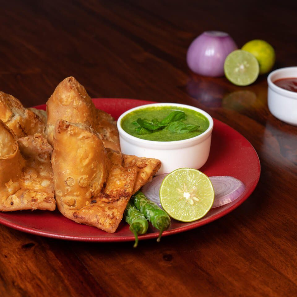 Samosa Food Photography