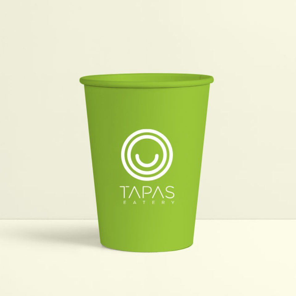 Tapas Brand Collateral Glass