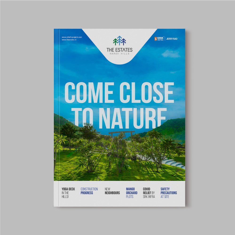 Brochure Cover Design The Estates