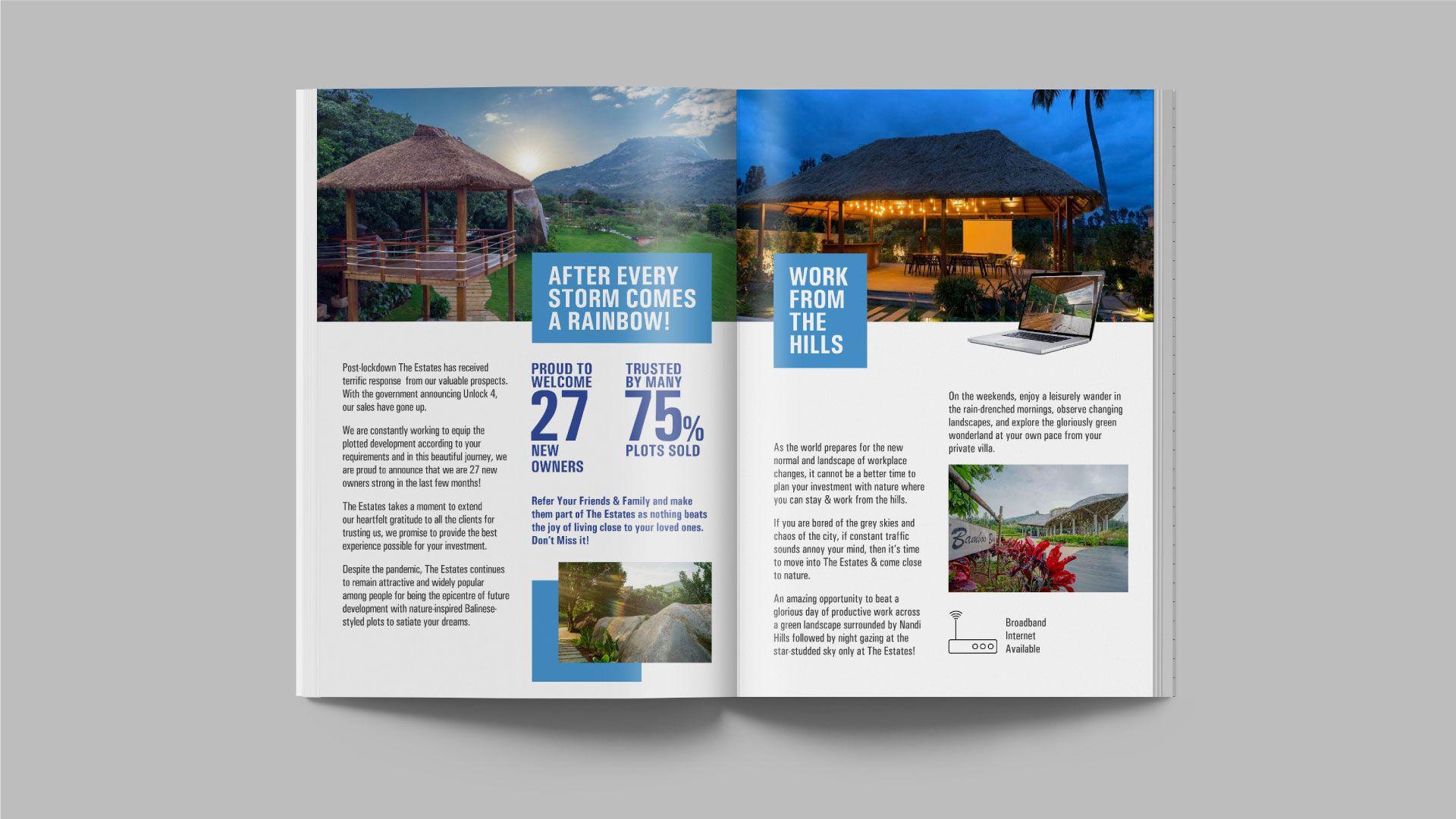 Brochure Design Real Estate Client Bangalore SRK Infra