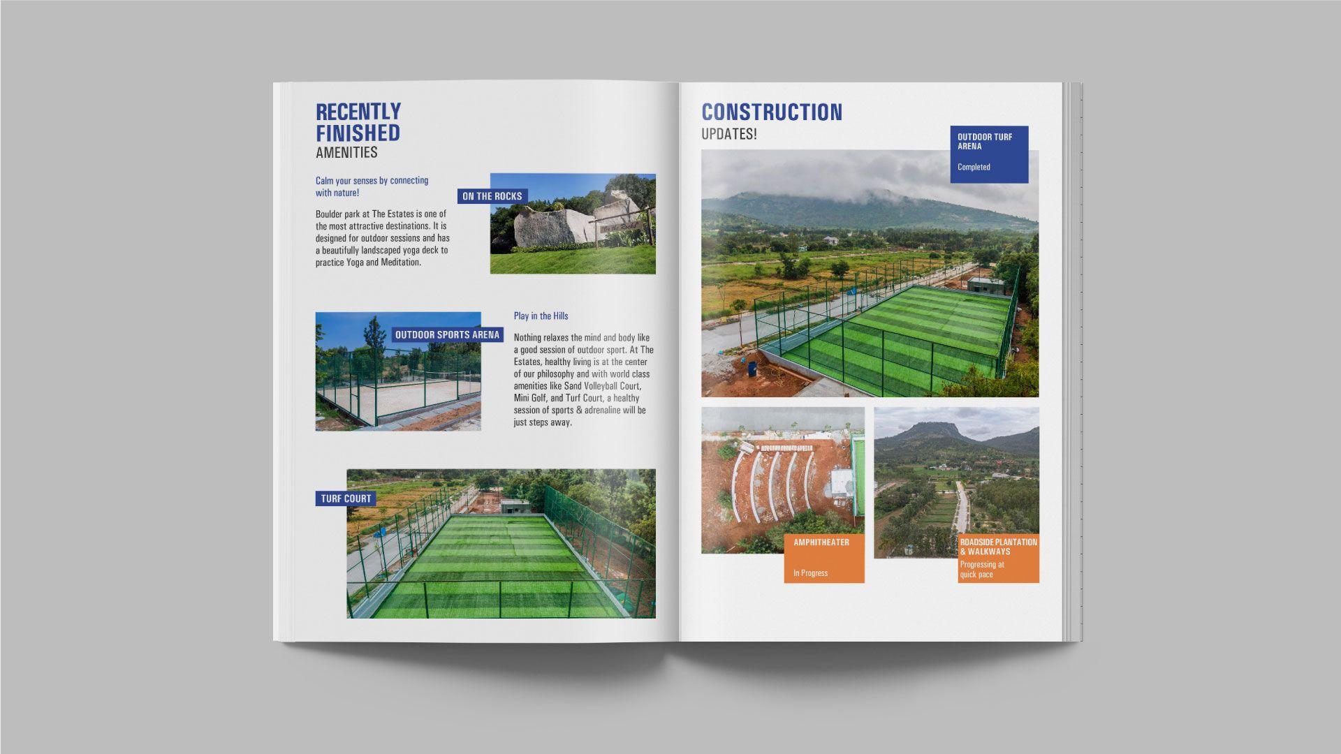 Real Estate Client Bangalore Brochure Design
