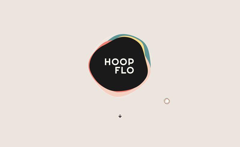 Hoop Flo Website Design
