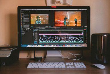 film edit on computer